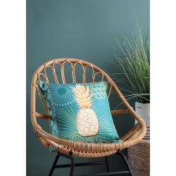 Housse de Coussin Ananas Vert