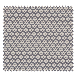 Tissu Paquerette Gris