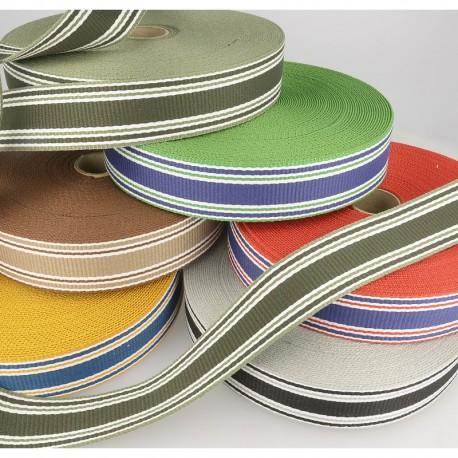 Sangle stripes tricolore