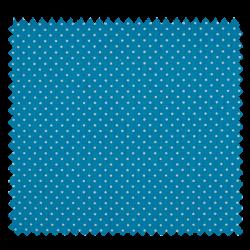 Tissu Epingle Turquoise