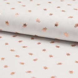 Tissu Jersey Foil Imprimé Insecte