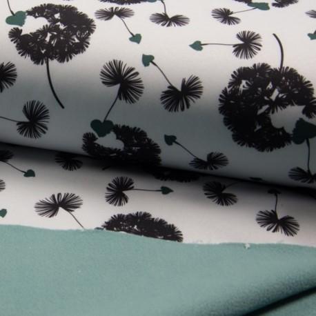 Tissu Soft Shell Imprimé Fleur