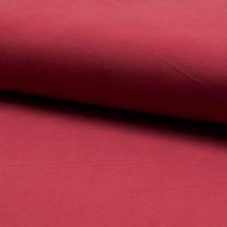 Tissu Bella Uni Rouge