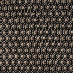 Tissu Viscose Twill Imprimé Taupe noir