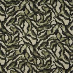 Tissu Maille Tricot Kaki noir