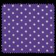 Tissu Pois Lilas Blanc