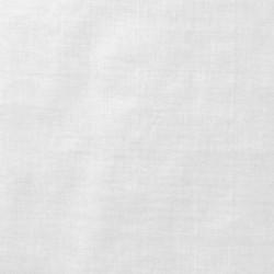 Tissu Organdi Blanc coton Peigné