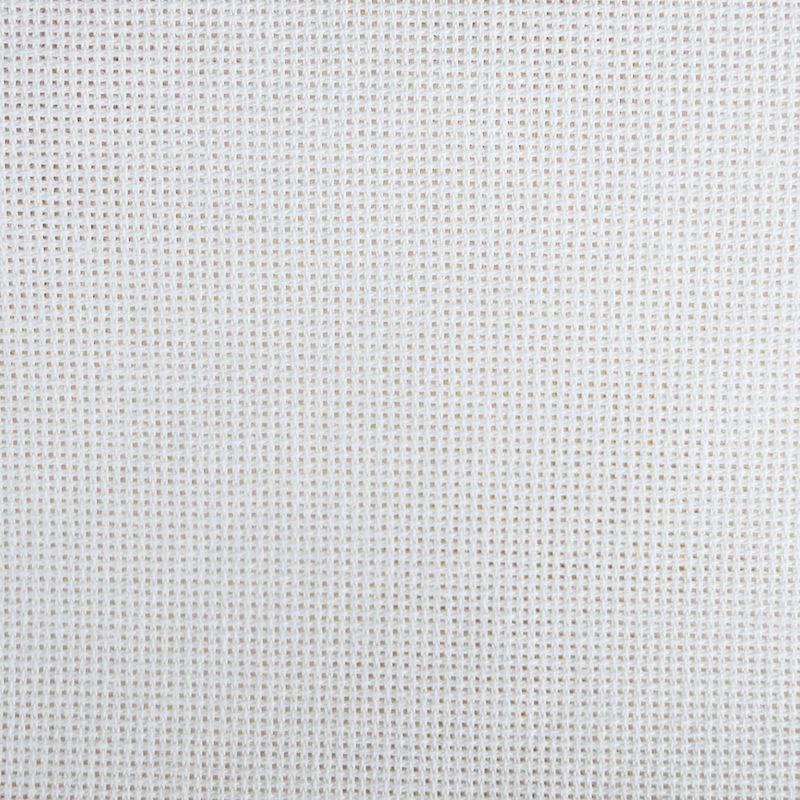 Tissu Romance 7.2 Toile à Broder Blanc
