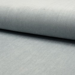Tissu Veloutine Uni Perle