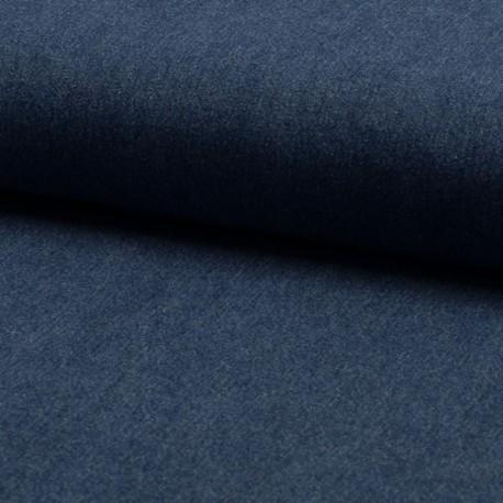 Tissu Jeans Léger Bleu