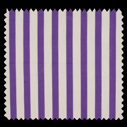 Tissu Rayé Violet Blanc