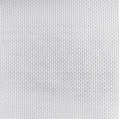 Toile transat ajourée blanche