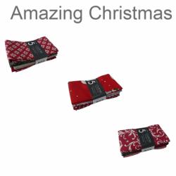 Un Lot de 5 Coupons Amazing Christmas Multico 45x55 cm