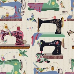 Tissu Couture Digital Multico