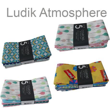 Un Lot de 5 Coupons Ludik Atmosphere