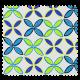 Tissu Pop Cobalt