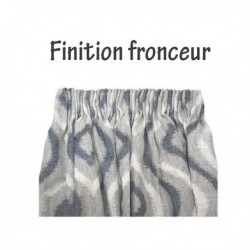 Rideau Fronceur Illusion