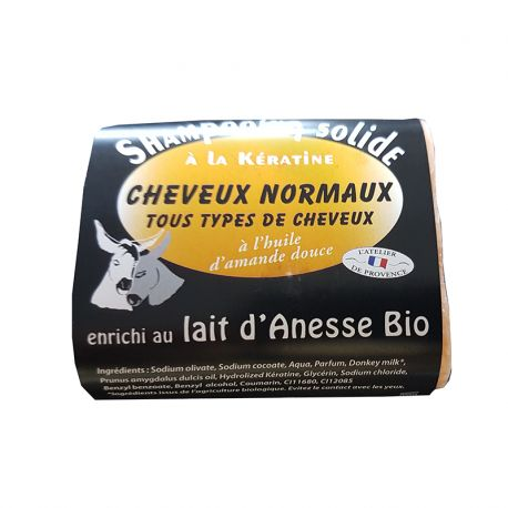 Shampooing Solide Cheveux Normaux 100grs