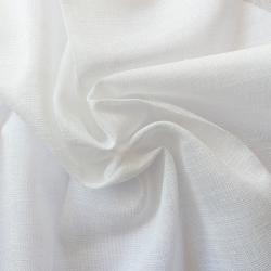 Tissu Julie Etamine Scintillant Blanc