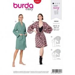Patron Burda 6161 Kimono/peignoir 34/44