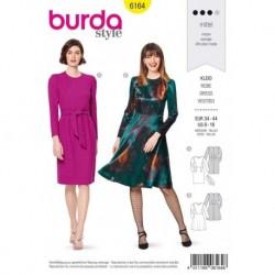 Patron Burda 6164 Robe/jupe Etroite 34/44
