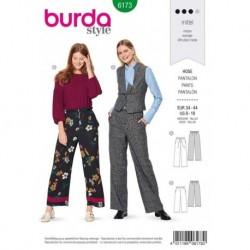 Patron Burda 6173 Pantalon de 34 à 44