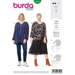 Patron Burda 6194 Tunique de 44 à 54