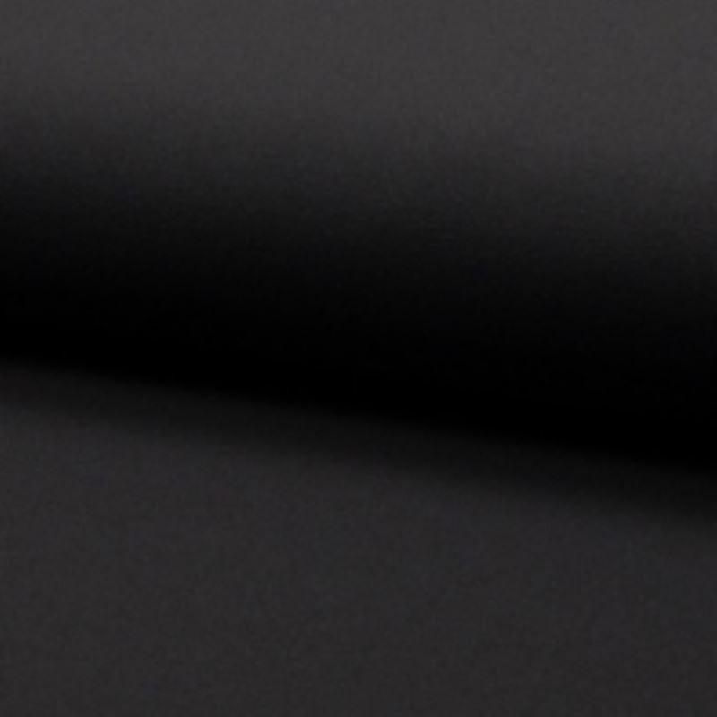 Tissu Crepe Scuba Uni Anthracite