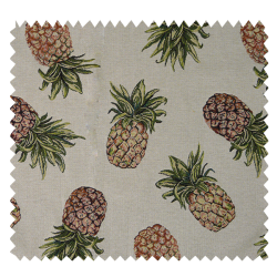 Tissu Jacquard Pineapple Beige