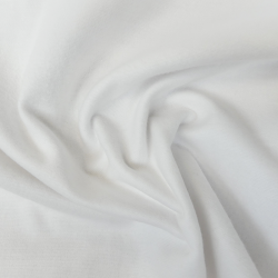 Tissu Molleton Blanchi