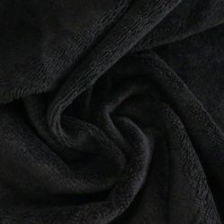 Tissu Eponge Bambou Noir