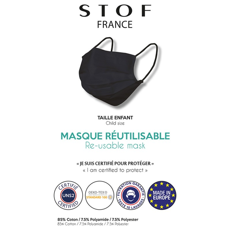 Masque Lavable Adulte / Enfant