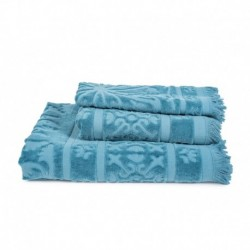 Linge de toilette Harmony Sumatra Bleu Stone