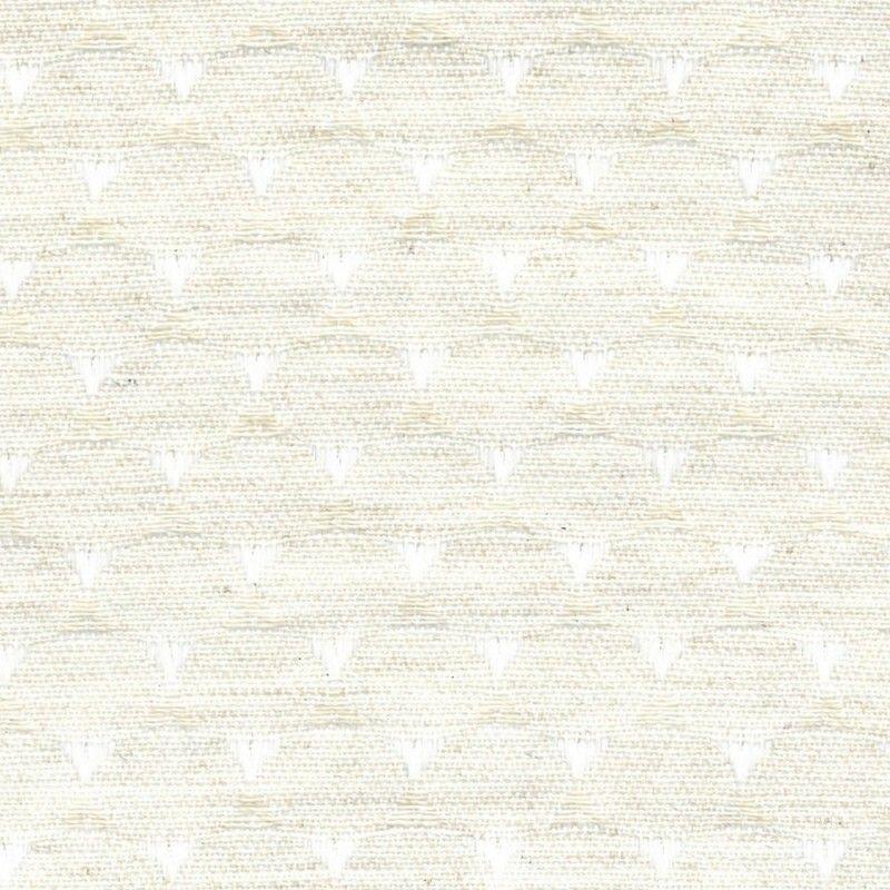 Tissu Junotriangle Beige Ecogreen
