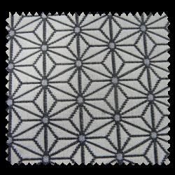 tissu jacquard coordonn moby bleu tissus des ursules. Black Bedroom Furniture Sets. Home Design Ideas