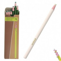 Crayon Craie Blanc Taille Facile X6