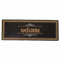 Paillasson Welcome Noir 40x110 cm