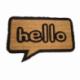 Paillasson Hello