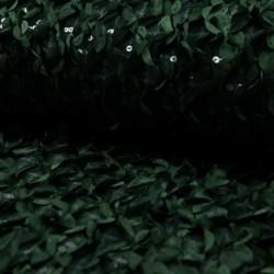 Tissu Feuillage sequin Vert