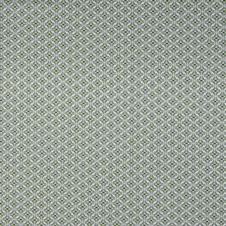 Tissu Jersey Bio Retro Blanc