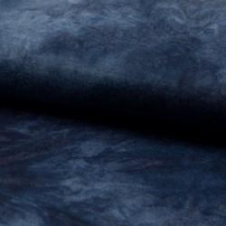 Tissu Jersey Tie&dye Marine