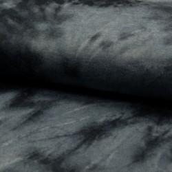 Tissu Jersey Tie&dye Noir