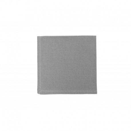 Serviette de Table Yuco Chambray Gris