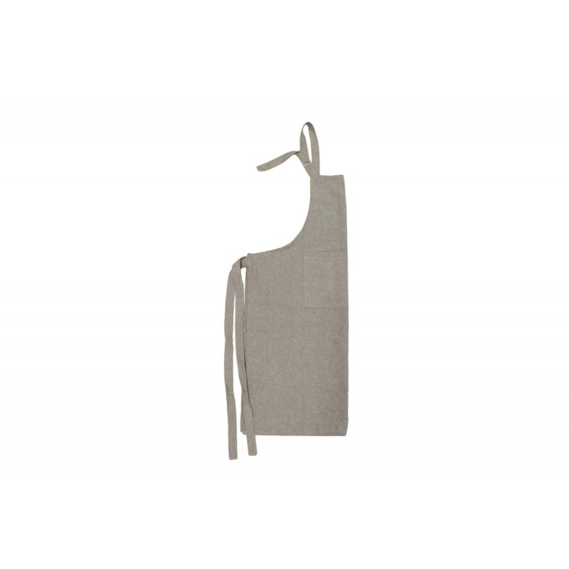 Tablier Yuco Chambray Beige