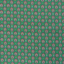 Tissu Peacock Imprimé Cactus