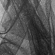 Tissu Tulle Paillette Noir