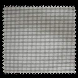 Tissu Petit Vichy Gris Blanc