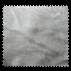 Tissu Fausse Fourrure Uni Blanc