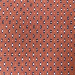 Tissu Vadym Imprimé Terracotta