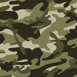 Tissu Uniform Imprimé Kaki